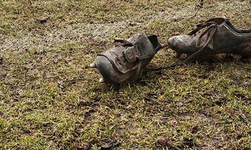 vedligehold fodboldstøvler