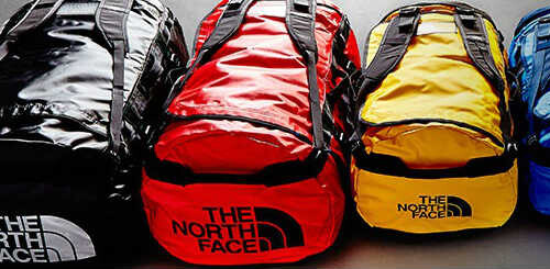 north face duffelbags til alle