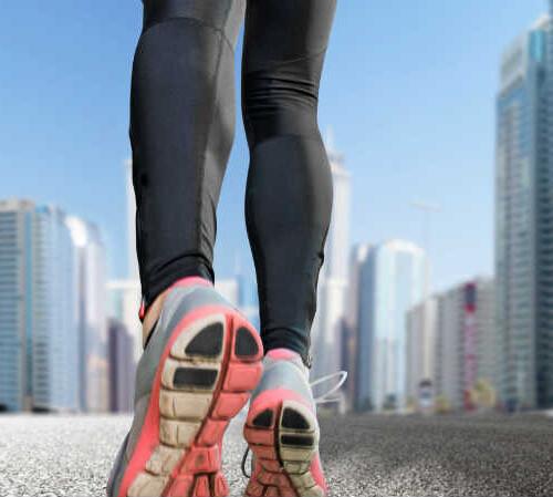 en løber med tempo
